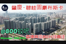 碧桂園豪布斯卡_肇慶 首期10萬 香港高鐵80分鐘直達 香港銀行按揭 (實景航拍)