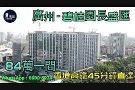 碧桂園長盛匯_廣州 首期5萬(減) 總價84萬 香港高鐵45分鐘直達 香港銀行按揭 (實景航拍)