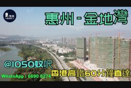 金地灣_惠州 首期3萬(減) @1050蚊呎 香港高鐵60分鐘直達 香港銀行按揭(實景航拍)