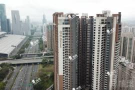 寶生Midtown_深圳 CBD巔峰複式 核心地段 鐵路沿線 (實景航拍)