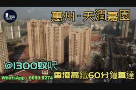天潤嘉園_惠州 首期3萬(減) 香港高鐵60分鐘直達 香港銀行按揭(實景航拍)